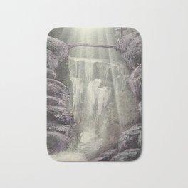 Purple Waterfall Bath Mat