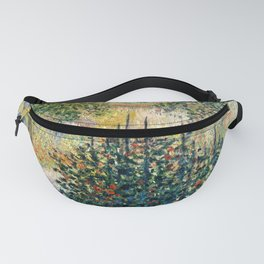 "Claude Monet ""Camille Monet in the garden at Argenteuil"" Fanny Pack"