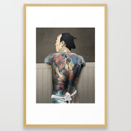 Tattoo Yakuza Framed Art Print