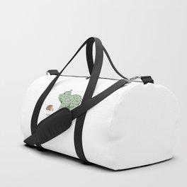 Hedgehog vs. Hedge Hog Duffle Bag