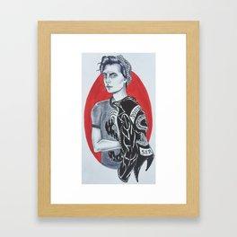 Jughead Jones // Riverdale Framed Art Print