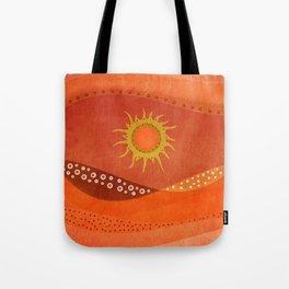Color/Landscape 7 Tote Bag