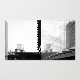 Simetría imperfecta Canvas Print