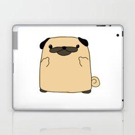 Pug Flipping Double Bird Laptop & iPad Skin