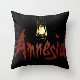 Amnesia Throw Pillow