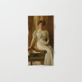 "John Collier ""Portrait of The Hon. Mrs Harold Ritchie"" Hand & Bath Towel"