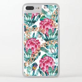 Glam Portea Clear iPhone Case