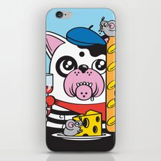 The Frenchie Connection iPhone & iPod Skin