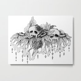 Skulls 5 Metal Print