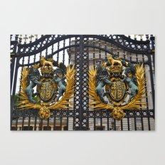 Buckingham Palace. Canvas Print