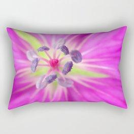 Pink/Purple Macro Rectangular Pillow