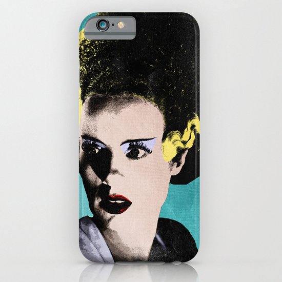 The Beautiful Bride of Frankenstein iPhone & iPod Case