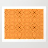 pumpkin Art Prints featuring Pumpkin by TRUA