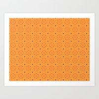 pumpkin Art Prints featuring Pumpkin by TRUA