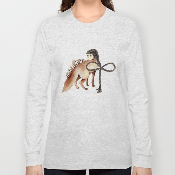 Little Homes of Hair and Wood Long Sleeve T-shirt