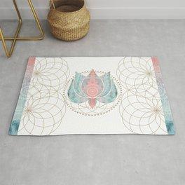 Yoga Lotus Rug