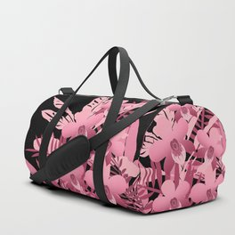 Bouquet of pink tropical plants 2 Duffle Bag