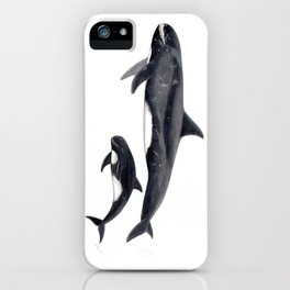 Pygmy killer whale iPhone Case