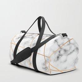 Marble Geometry 051 Duffle Bag