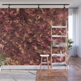 Abalone Shell | Paua Shell | Sea Shells | Patterns in Nature | Copper and Pink Tint | Wall Mural