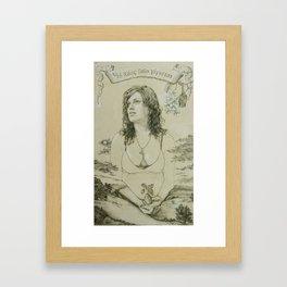 Out of Khaos Came Gaia Framed Art Print