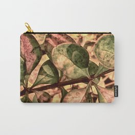Autumn Foliage Detail Carry-All Pouch