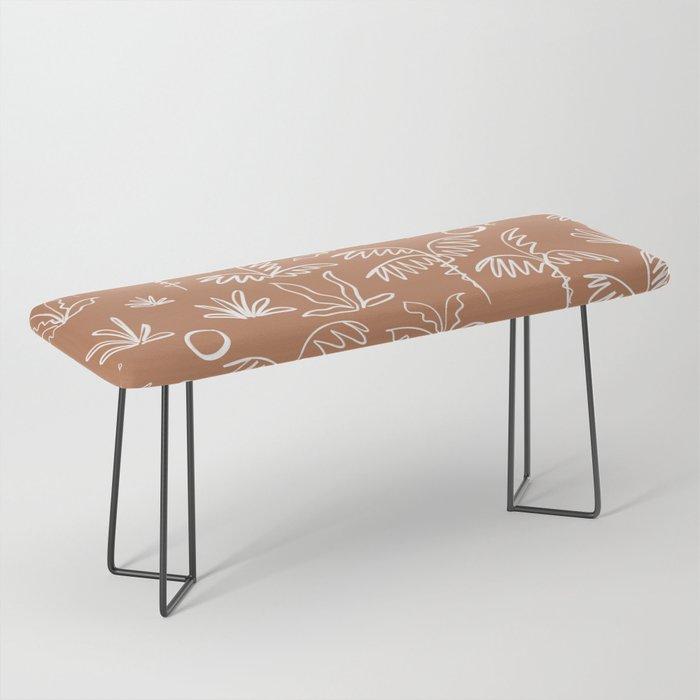 Oasis (rust) Bench