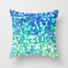 Mosaic Sparkley Texture G149 Throw Pillow