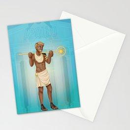 Greek Gods - Apollo Stationery Cards