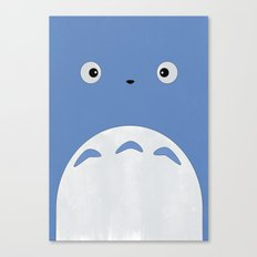 Studio Ghibli - Blue Totoro Canvas Print