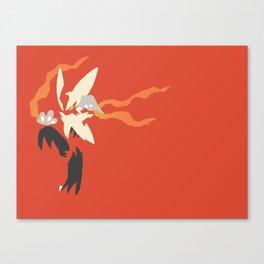 Mega Blaziken PKMN Canvas Print