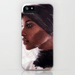 Jasmine Warsame iPhone Case