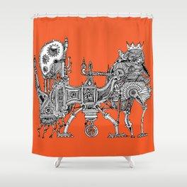 Brewerpoddle Shower Curtain