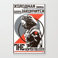 propaganda Canvas Prints featuring Propaganda by Shop 5