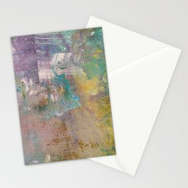 Abstract Y (Monoprint) Stationery Cards