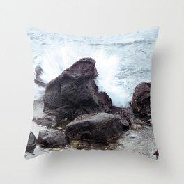 Come crashing down  Throw Pillow