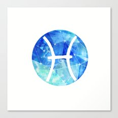 Gemini. Sign of the zodiac. Canvas Print