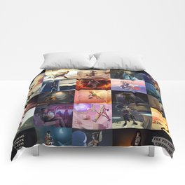 (Fictional) Videogame Heroines ABC Comforters