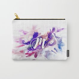 Letter M Carry-All Pouch