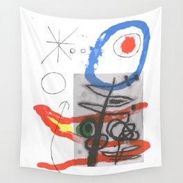 Joan Miro - Peintures Sur Cartons II Wall Tapestry