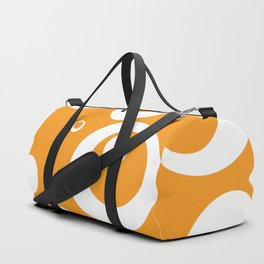Circles Dots Bubbles :: Marmalade Duffle Bag