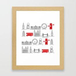 London Calling Framed Art Print