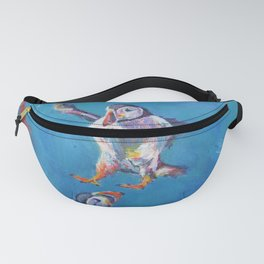 Landing puffin Fanny Pack
