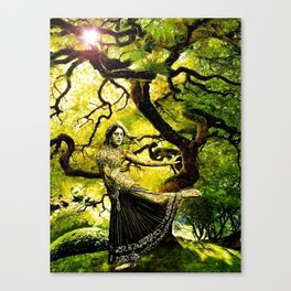 Beneath the Bodhi Tree Canvas Print