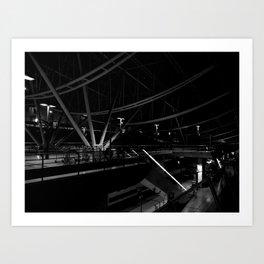 Underground 2 Art Print
