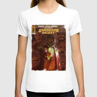 guardians of the galaxy T-shirts featuring Guardians of The Galaxy  by Juan Hugo Martinez Illustrations