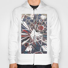 Abstract Duck Face Hoody
