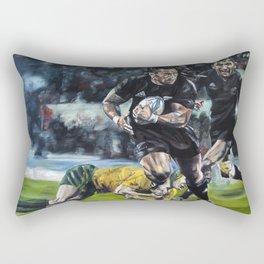All Blacks Rectangular Pillow