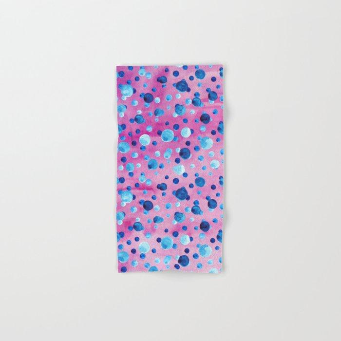 Polka Dot Pattern 06 Hand & Bath Towel