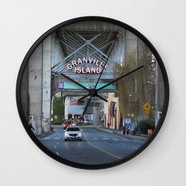 Granville Island 2 Wall Clock